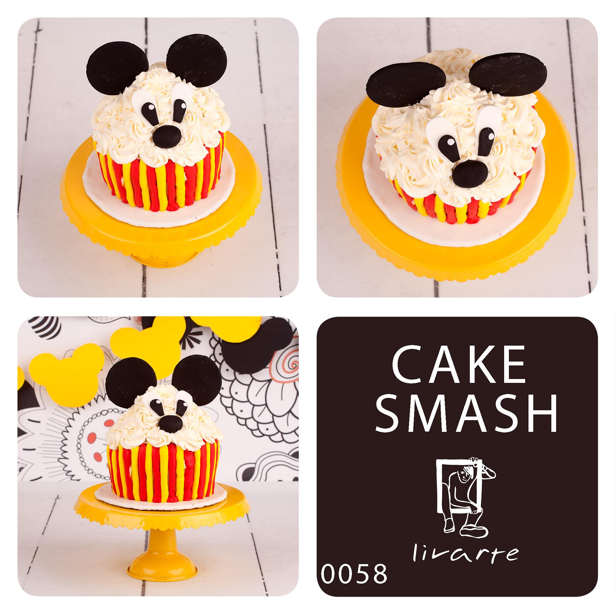 Cake Smash, Livarte, Wejherowo, Trójmiasto, Minnie Mouse