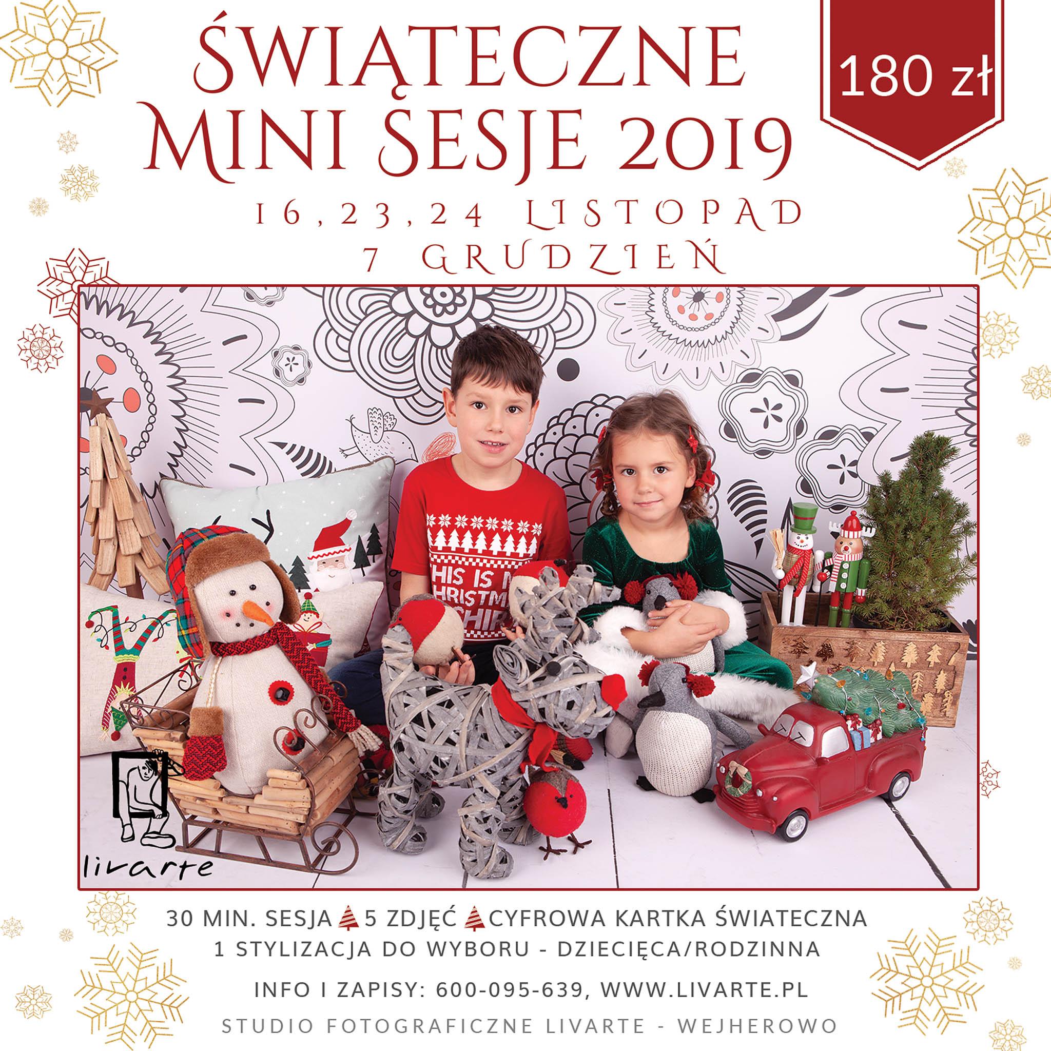Livarte - Świąteczne Mini Sesje 2019